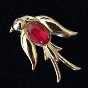 Vintage,1950's ,Coro Pegasus Bird Brooch